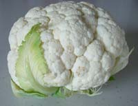 square foot gardening cauliflower 2